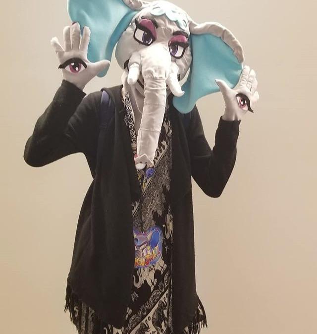 Elephant fursuit - Kujali the African Elephant