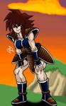 Female Saiyan Warrior