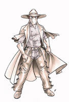 OHOTMU Redux Phantom Rider redesign by Smashed-Head