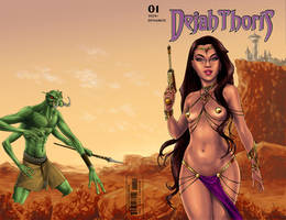 Dejah Thoris sketch cover by Smashed-Head