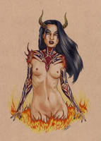 Succubus by Smashed-Head