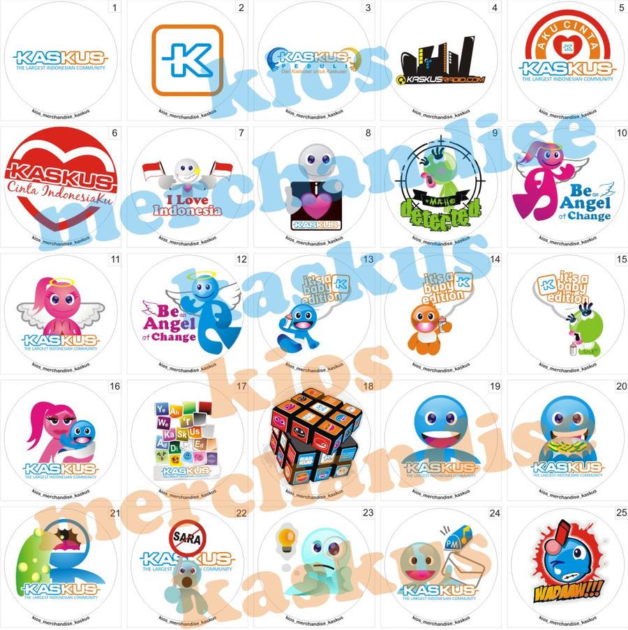image pin merchandise kaskus 1 by zonamerah