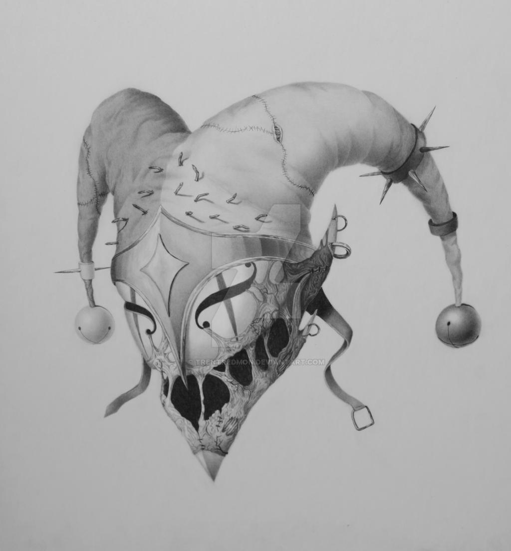 Evil Jester Mask By TrentRedmon On DeviantArt