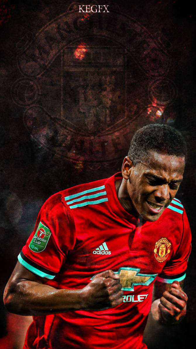 e43c32734 Anthony Martial Mobile Wallpaper by NewGenGFX on DeviantArt