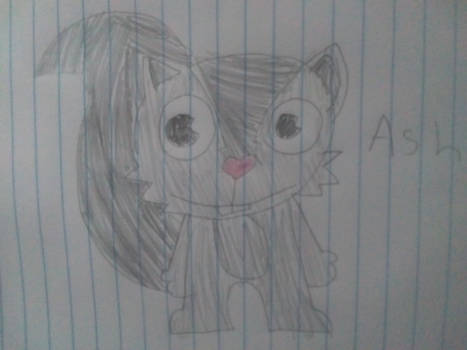 (Art trade) ash the wolf