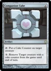 Magic Companion Cube by Xelioth
