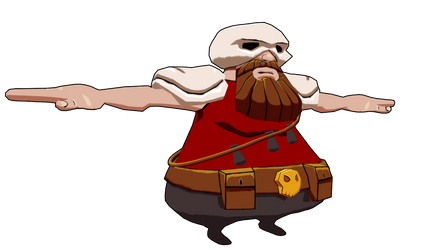 Game Concept - Dwarf by Xelioth