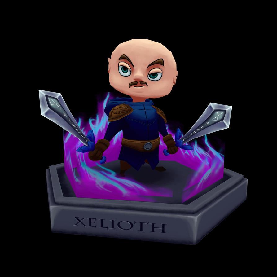 Chibi Xel by Xelioth