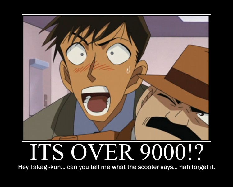 its over 9000