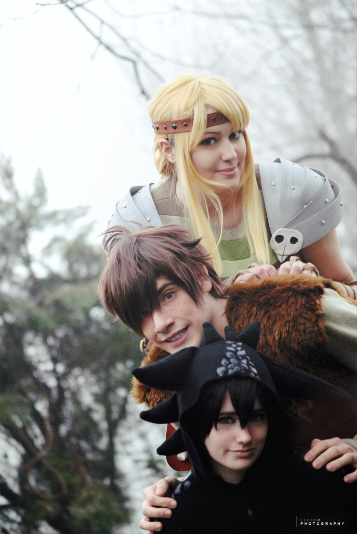 We are a Team, HTTYD cosplay by Giuzzys