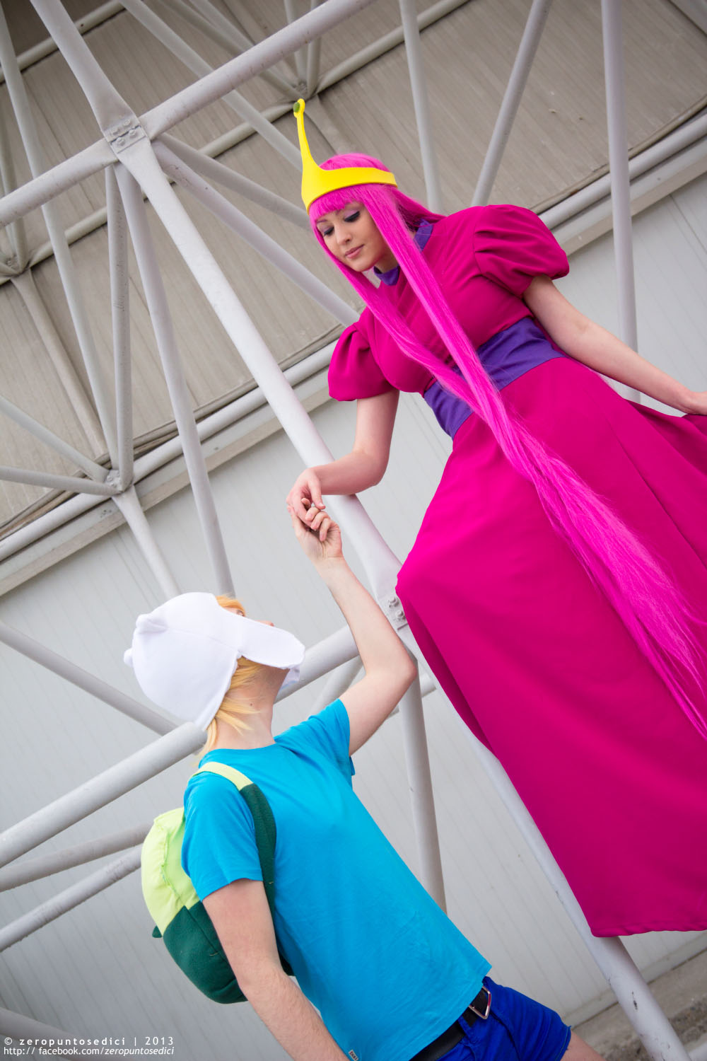 Princess Resque. Adventure time cosplay by Giuzzys