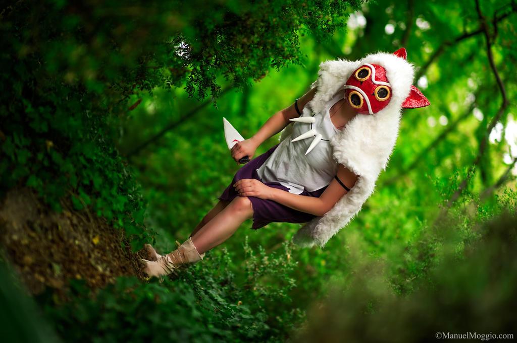 Attack. Princess Mononoke cosplay. by Giuzzys