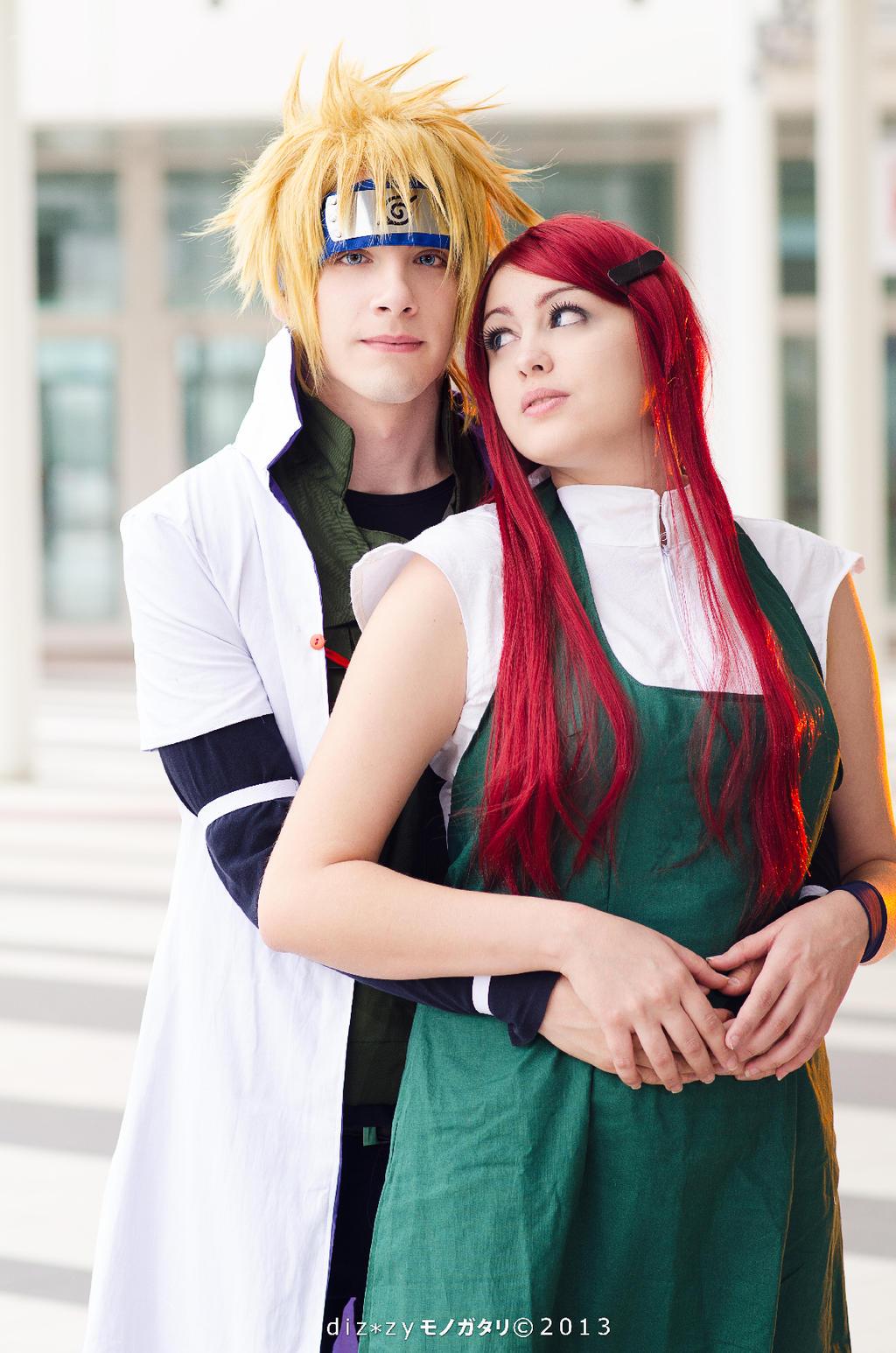 Minato and kushina cosplay