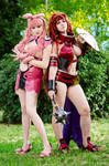Beautiful evil. Queen's blade cosplay,melona Risty