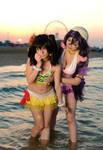 Hello nico-chan . Nozomi cosplay