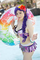 Summer time. Love live, nozomi cosplay by Giuzzys