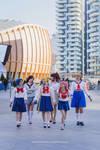 After school. Sailor moon cosplay