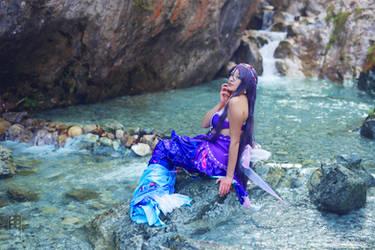 Nozomi, Marmaid. lovelive by Giuzzys