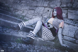 SALLY SONG COSPLAY. NIGHTMARE BEFORE XMAS