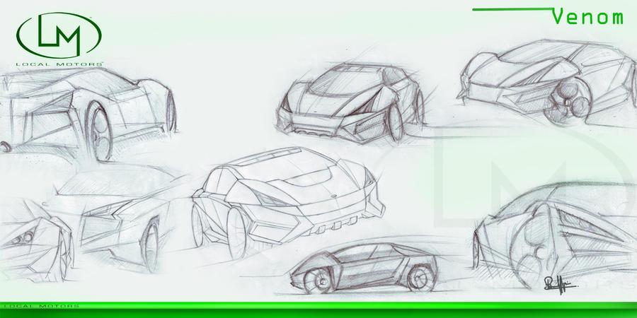 Local Motors_Venom SUV sketch by sheriffdesignstudio