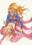 Supergirl by AZN PORKEPIK