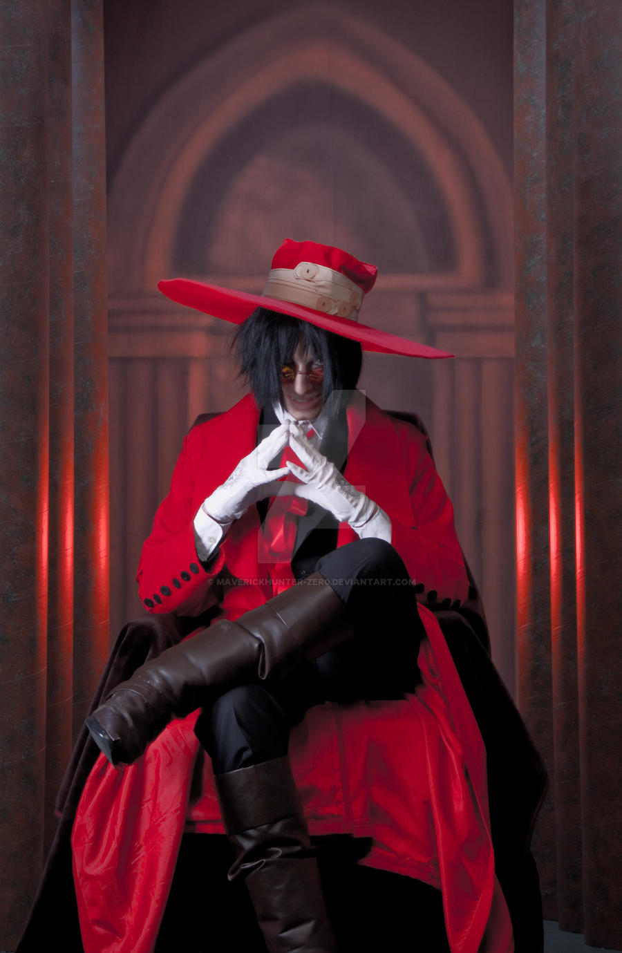 The No Life King, Alucard by MaverickHunter-Zer0