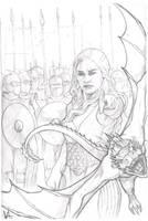 Daenerys Targaryen by MonkeyFire99