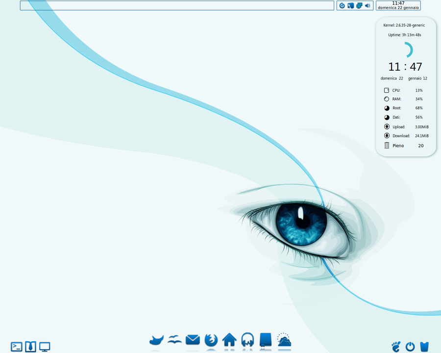 Blue_Eye Theme by giancarlo64