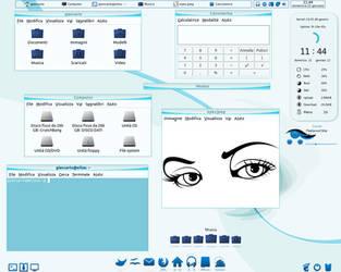 Blue_Eye Theme Full desk by giancarlo64