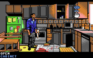 Walking Dead C64: Searching the Kitchen