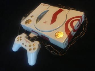 God of War PS1 paintjob