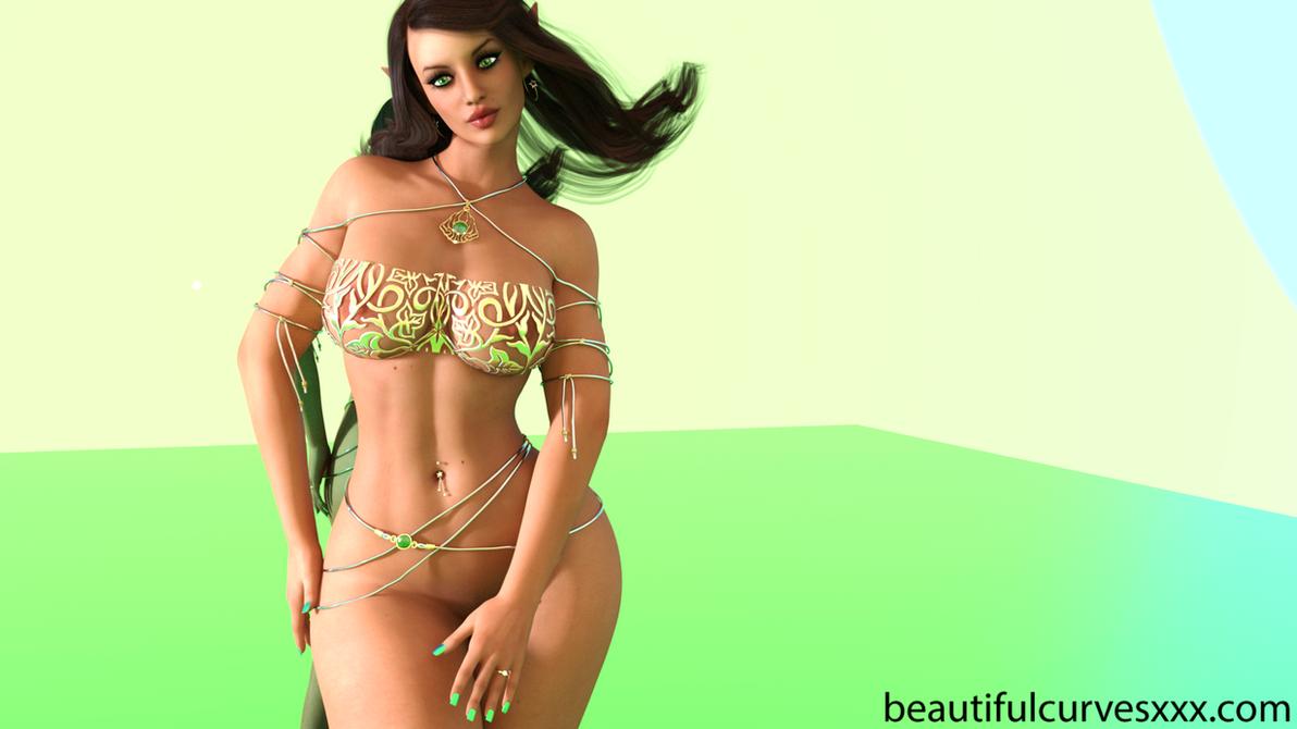 Esmeralda #1 by BeautifulCurves