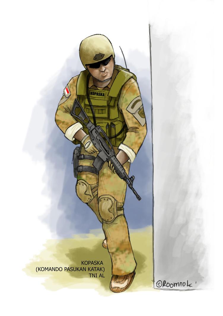 Kopaska komando pasukan katak by roodynroomnok on deviantart - Wallpaper kopaska ...