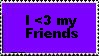 Friend Stamp by RavenluvsSesshomaru