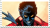 Amazing X-men Nightcrawler Stamp by RavenluvsSesshomaru