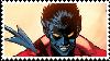 Amazing X-men Nightcrawler Stamp by RavenluvsSesshomaru