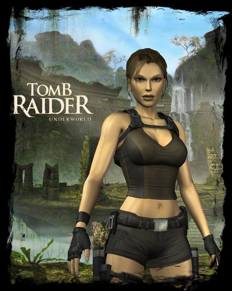 Tomb Raider Underworld Wallpaper: Poster Underworld By EscorpioTR On DeviantART