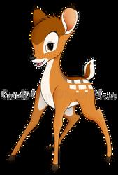 Bambi by Emerald-Procyon
