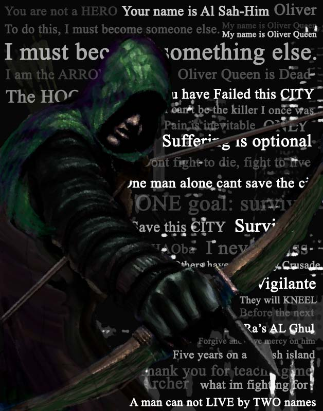 Arrow Quotes Magnificent The Arrow CW By Leon48zhang On DeviantArt