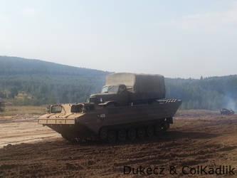 Bahna 2013 - PTS armored amphibious transport