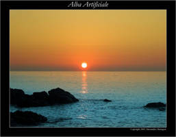 Alba artificiale by almen