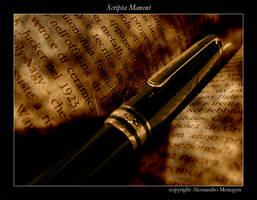 Scripta Manent by almen