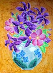 Pastel8 - Flower Vase II by vendoritza