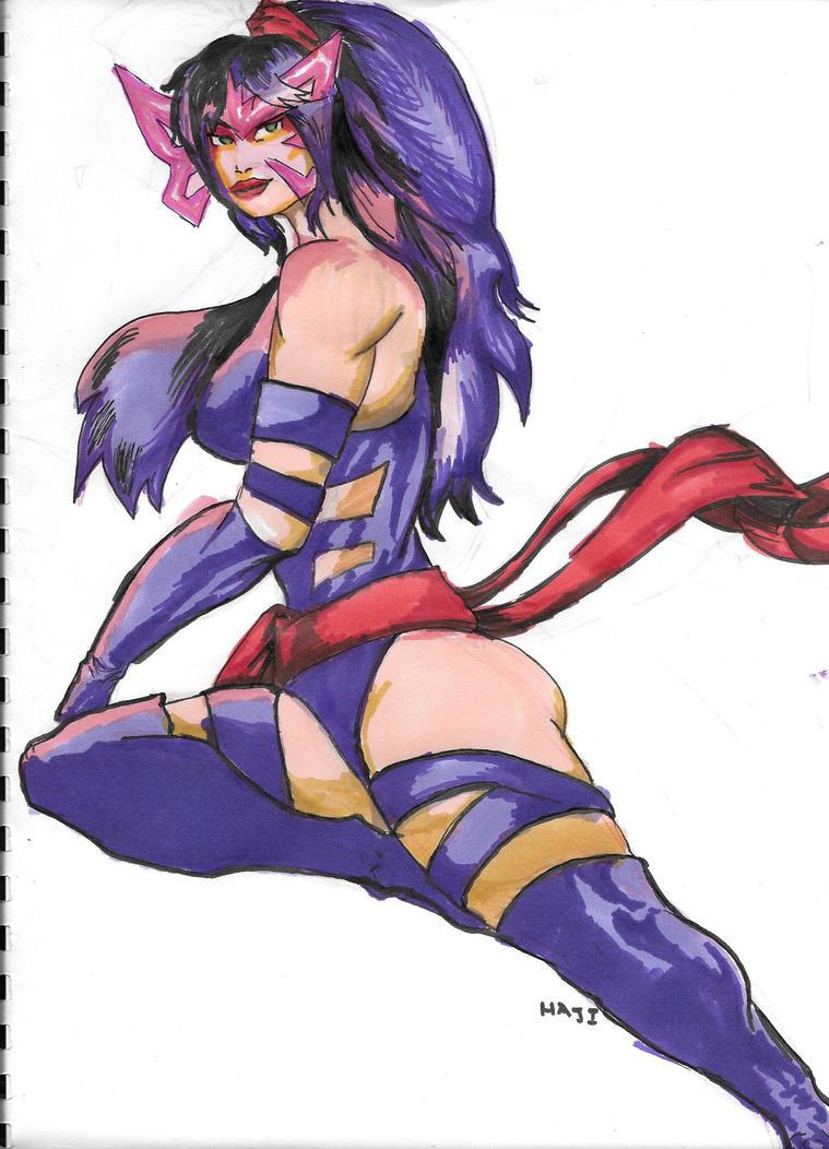 Psylocke by Bigboss400