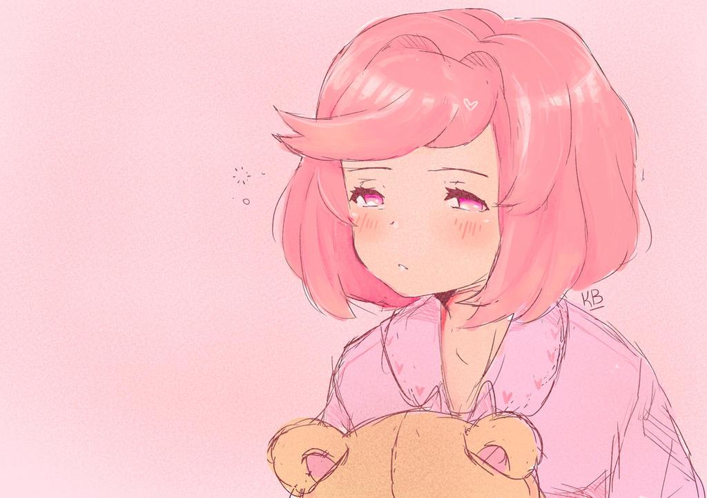Sleepsuki by KatysDrawings
