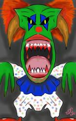 Clown Mask by popmaster6922