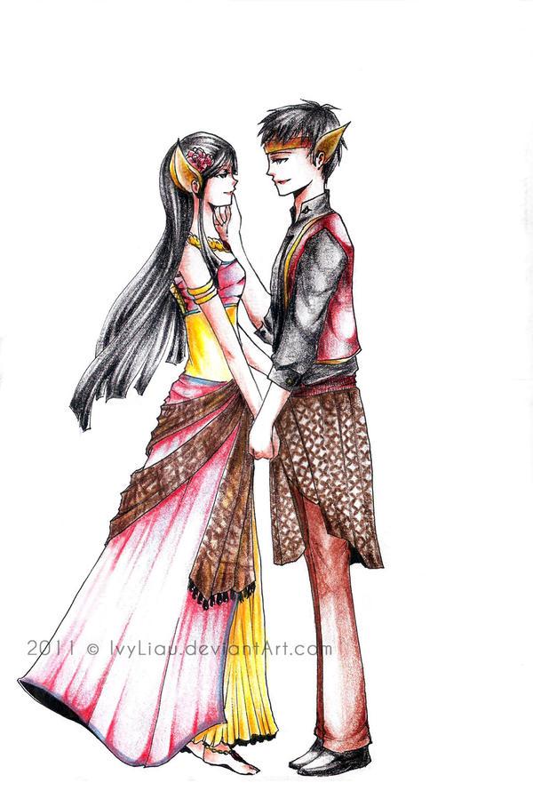 Lutung Kasarung by IvyLiau