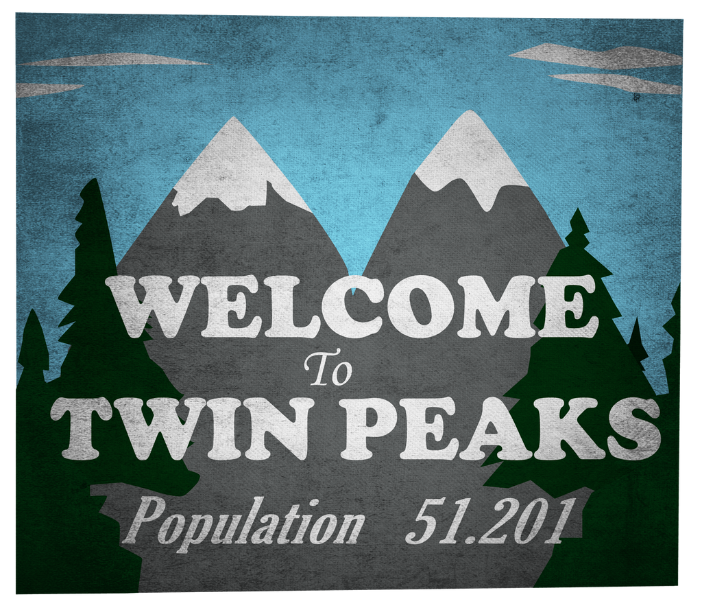 Welcome To Twin Peaks by samsayer