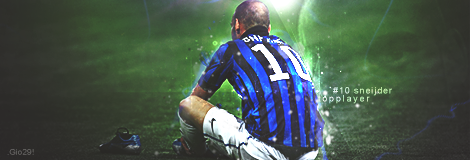 Sneijder by Gio-sg