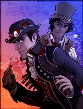 Steampunk Sylar and Mohinder